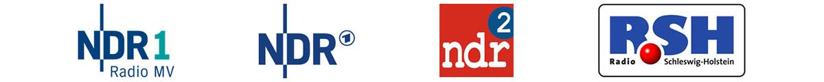 Referenzen NDR1, NDR, NDR2, RSH